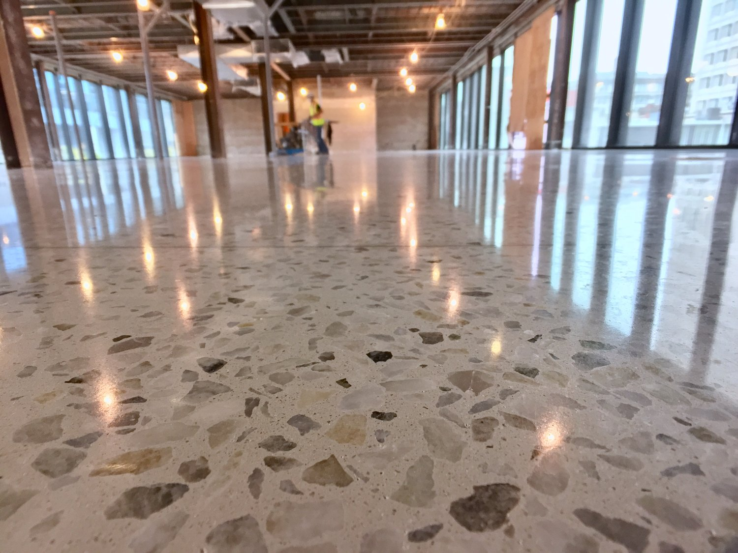 Polished Concrete Topping Republic Architecture